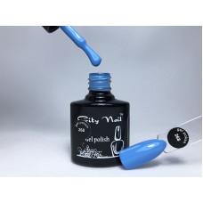 Гель лак 268 голубой (гель лак цвета небесной синевы) 10мл - Качественные гель лаки для ногтей