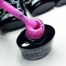 Гель-лак с вкраплениями City Nail серия Candy Breeze розовый 6мл арт.Гл-к-2-6