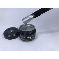 Гель-краска серебро для дизайна ногтей Gel Mirror City Nail №2 5мл арт.GMс