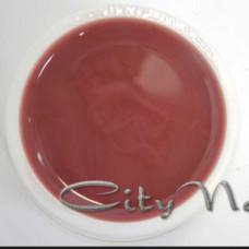 Акрил гель для наращивания и укрепления ногтей Acrylic Gel CityNail 212 темно карамельно бежевый 30мл