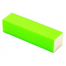 Баф для ногтей цветной ( Баф для ногтей зеленый ) Баф для ногтей 4-х сторонний