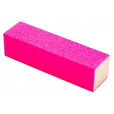Баф для полировки ногтей - Баф для Ногтей Розовый - Баф для ногтей цветной 4-х сторонний