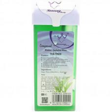 Воск кассетный 150г (Чайное дерево) Konsung Beauty  Tea tree