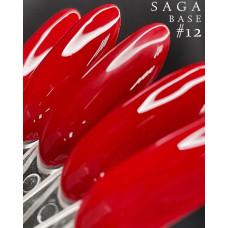 Цветная База для Гель Лака Красная COLOR BASE №12, 8 мл - Цветные базы для ногтей в ассортименте 8 цветов