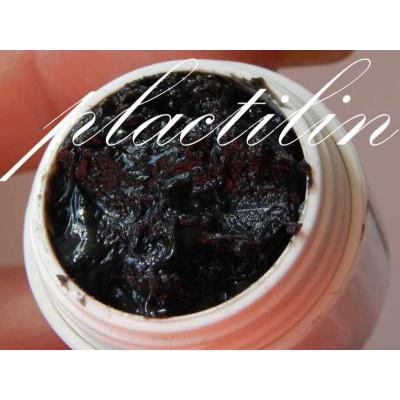 Гель-пластилин для лепки на ногтях черный