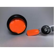 Гель паста для ногтей City Nail 13 оранжевая