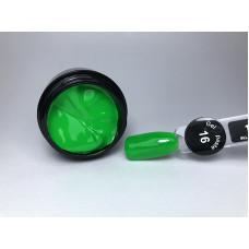 Гель паста для ногтей City Nail 16 зеленая