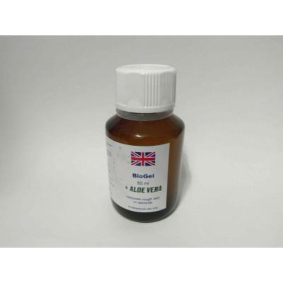 Кислота для педикюра - биогель с алоэ вера BioGel Aloe Vera 60 мл