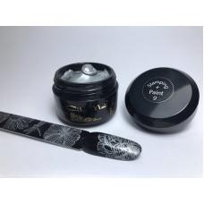 Гель краска для стемпинга STAMPING + PAINT 9 серебро