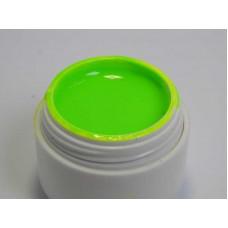 Неоновая гель краска для ногтей Н4 салатовая