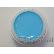 Пастообразная гель краска 3 голубая