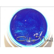 Пастообразная гель краска 7 синяя