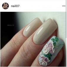 Слайдер-дизайн Fashion nails 3D Crystal - 3D наклейка на ногти - розы