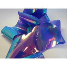 Битое стекло для ногтей - голубое