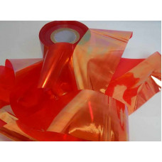 Битое стекло для ногтей оранжевое