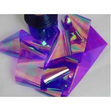 Битое стекло для ногтей фиолетовое