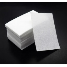 Безворсовые салфетки для ногтей, маленький блок 100штук - Салфетки для обезжиривания ногтей