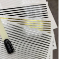 Гибкая 3D лента для дизайна ногтей (19)