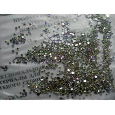 Камни для ногтей микс 1440штук, размеры 03, 04, 05, 06, 08