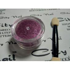 Металическая втирка для ногтей розовая